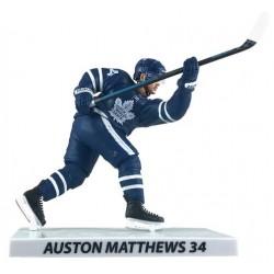 Figurine d'Auston Matthews des maple Leafs de Toronto