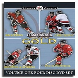 DVD Equipe Canada habiletés en or - volume 1