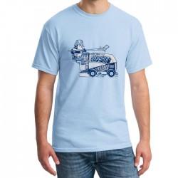 T-shirt surfaceuse Penguins