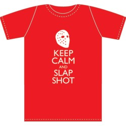 T-shirt Keep Calm and Slapshot